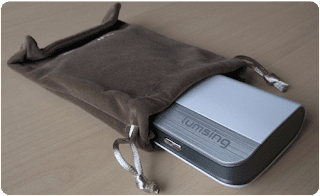 Lumsing 10400mah Harmonica Style Portable Charger