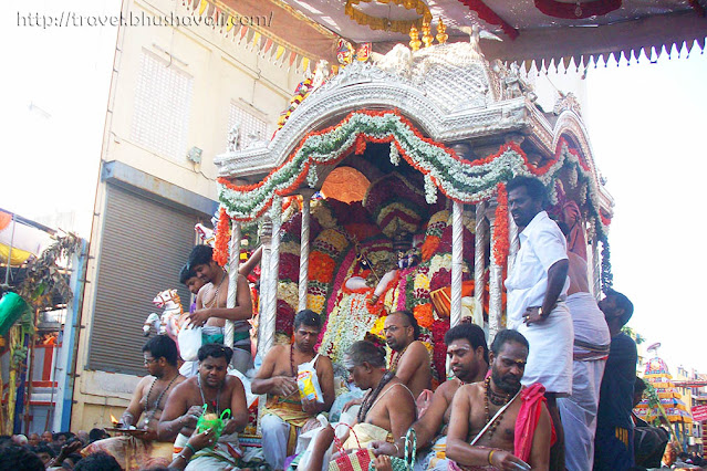 Arupathumoovar Festival Mylapore Kapaleeswarar Temple