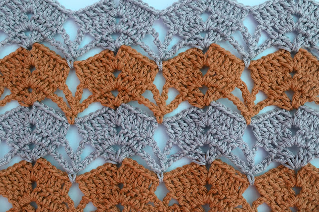 2 - Crochet Imagen puntada calada de verano a crochet y ganchillo por Majovel Crochet paso a paso DIY sencillo fácil