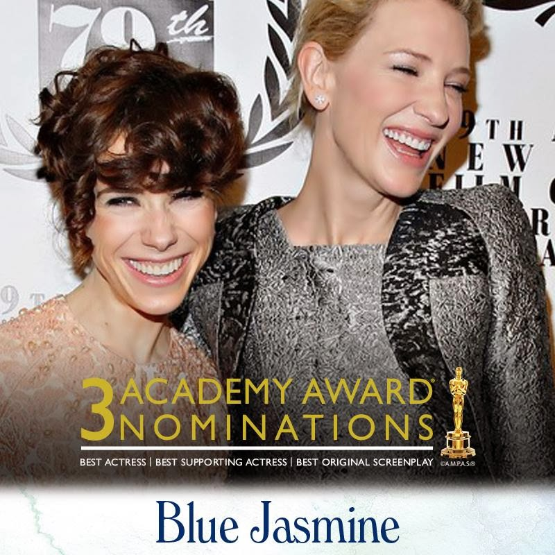 blue jasmine oscar nominations