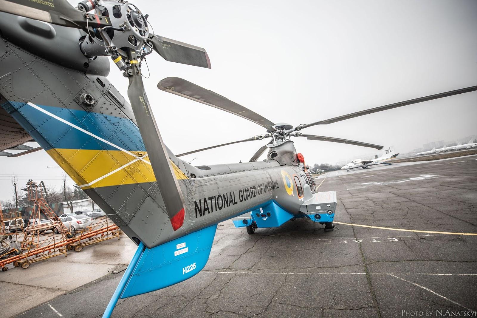 В Україну прибув п'ятий гелікоптер Н225 від Airbus