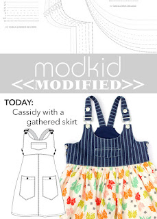 Modkid Cassidy with Gathered Skirt