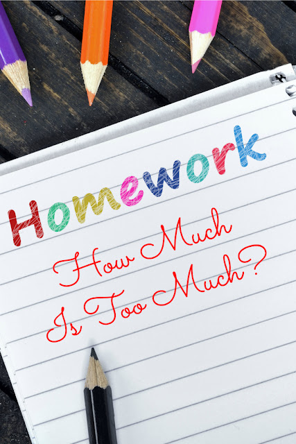 What amount of homework is appropriate for various grades?