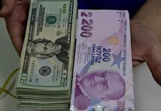 سعر صرف الليرة التركية مقابل العملات الرئيسية الثلاثاء 6/10/2020