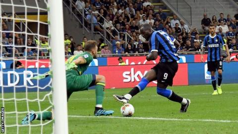 Lukaku Scores On His Inter Milan Serie A Debut