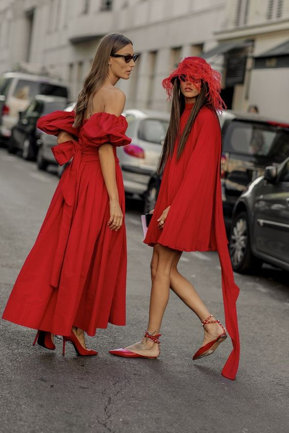 little red dress fashion