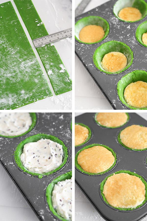 Mini Cassata Siciliana Cakes