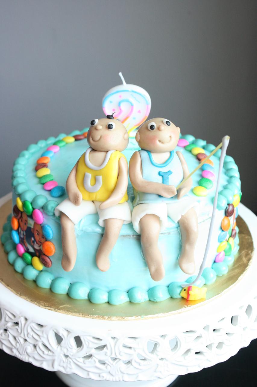 Melting Bites Something Sweet By MeltingBites Upin Ipin Birthday Cake