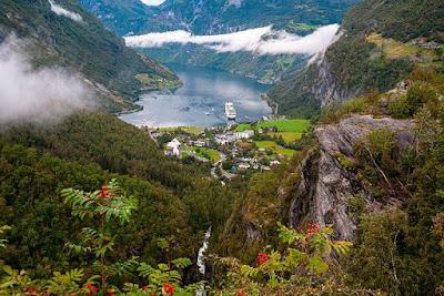 Norway Geiranger fjord