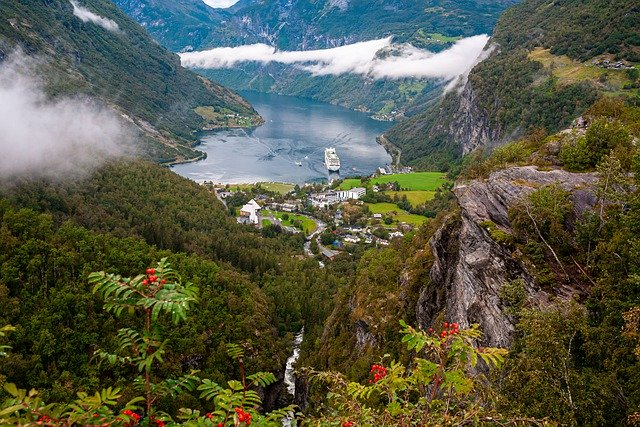 Norway the land of fjords and spectacular landscapes