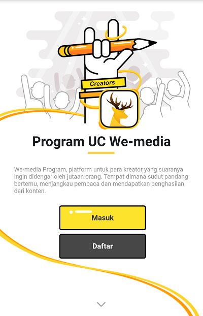 Cara Mendaftar dan Menulis di UC News Terbaru - BlogBangDoel