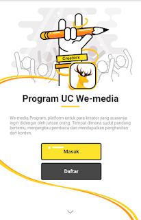 Cara Mendaftar dan Menulis di UC News Terbaru