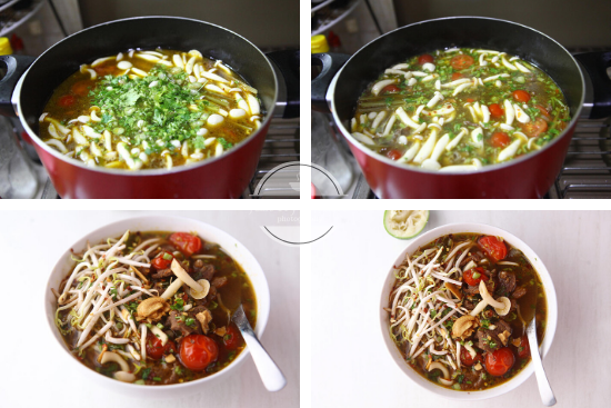 Resep Sup Daging Asam Pedas Thai JTT