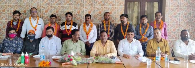 संजय कुमार बने उप्र बिजली मजदूर संगठन सीतापुर इकाई के जिलाध्यक्ष