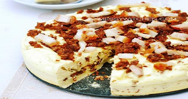 Steamed Pork Cake Recipe