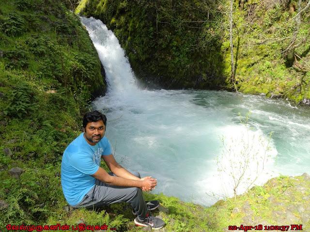 Buck Creek Falls White Salmon River