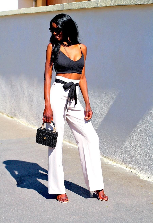 streetstyle-flare-pants-highwaist-crop-top-style-blogger