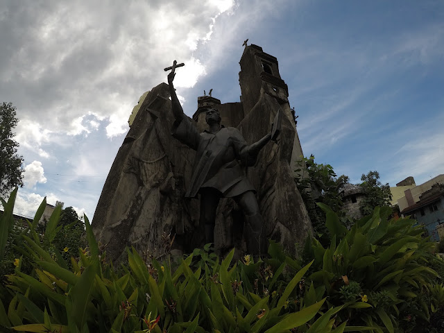 San Pedro Calungsod at the Heritage of Cebu Monument