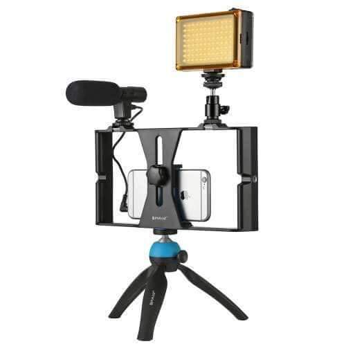 Video Recording Kit For Social Media Marketing and Webinars