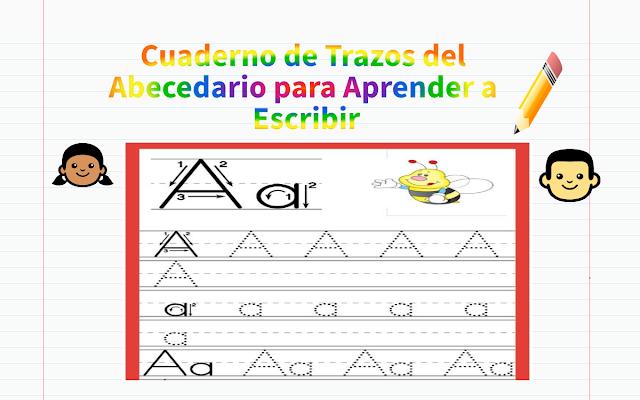 preescolar,primaria,escritura,alfabeto
