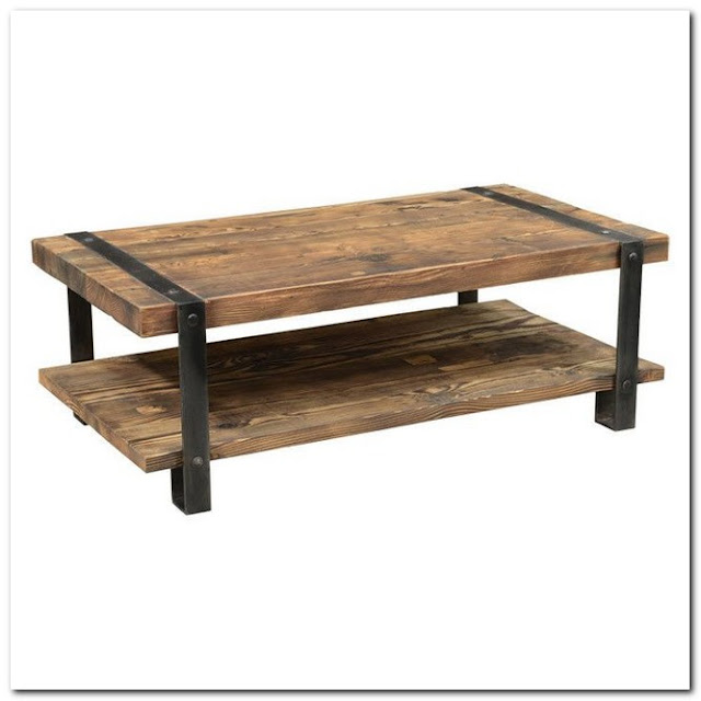 Joss And Main Rustic Coffee Table