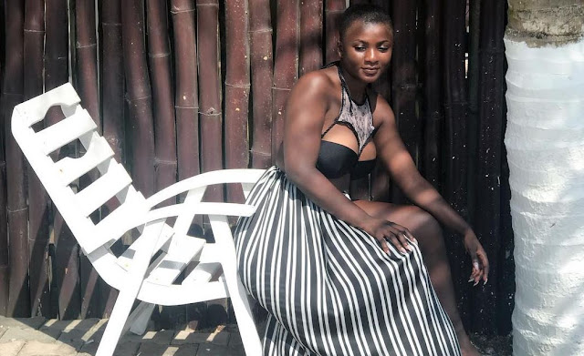 Ghanaian Actress Priscilla Opoku Agyeman, also known as Ahuofe Patri