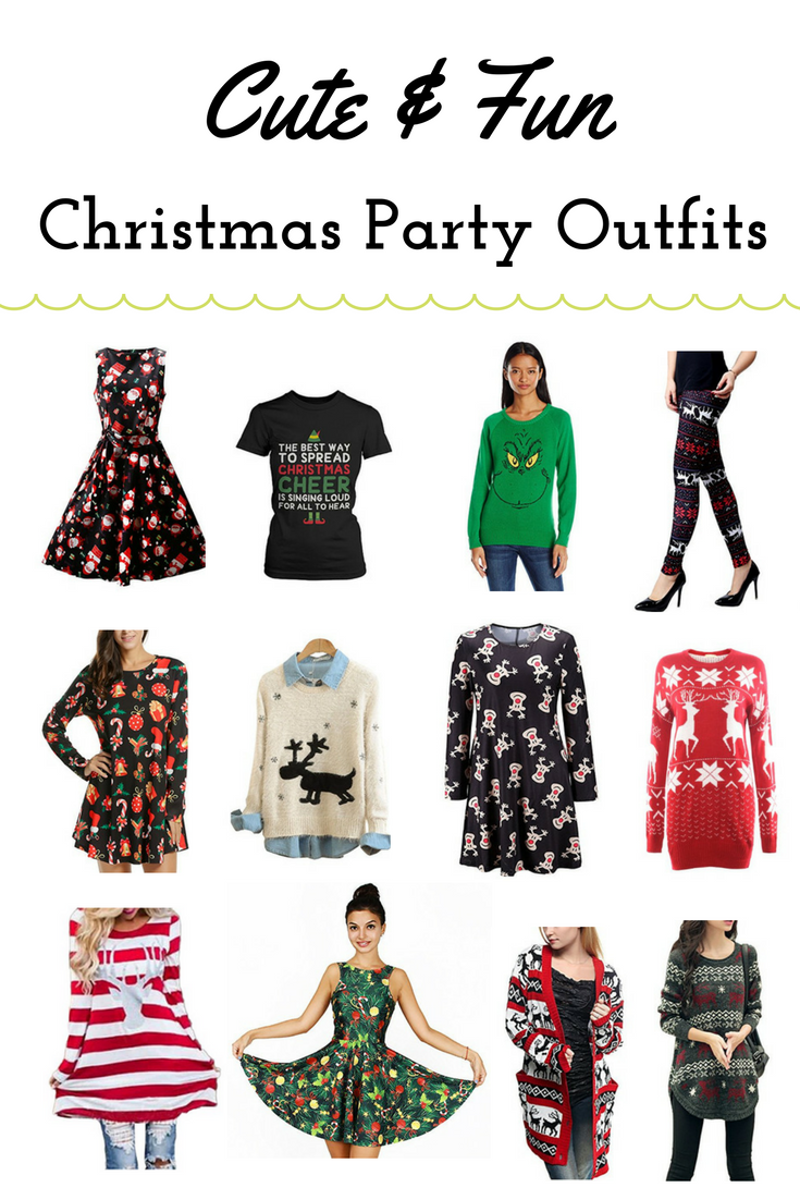 Cute fun christmas party outfits for women everything pretty