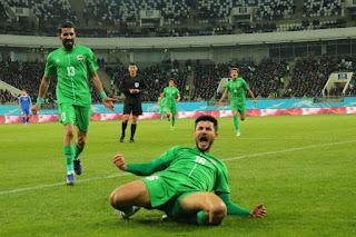 هدف فوز العراق علي أوزباكستان (1-0) في مباراة ودية