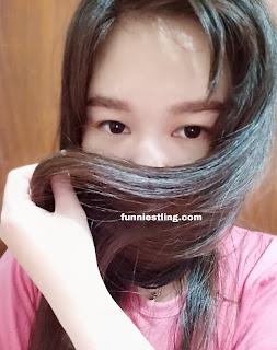 before styling nih rambut