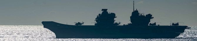 UK Deploys Aircraft Carrier In The Indian Ocean