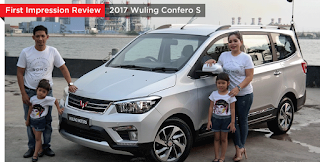 First Impression Preview Wuling Confero S 2017 Prototype updetails.com