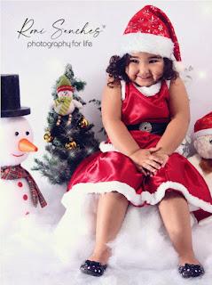 ensaio infantil de Natal