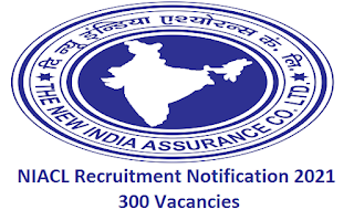 The New India Assurance company Ltd Recruitment 2021