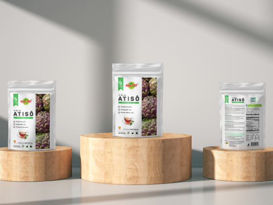 Hung Phat Artichoke Tea on Packaging of the World - Creative Package