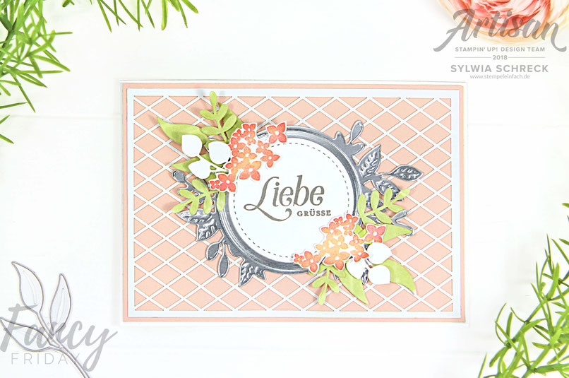 in blueten gerahmt-stampin up