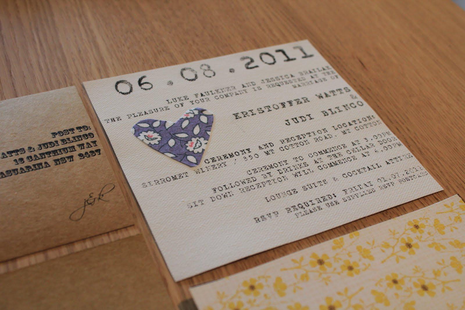 Diy Wedding Invitations Online: Watts Wedding Box: DIY Rustic Wedding Invitations