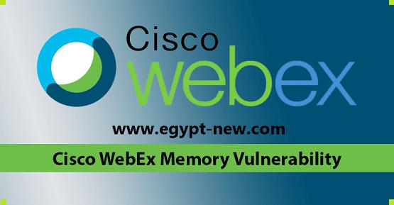 تتيح تجمعات Cisco Webex لـ Windows للمبرمجين الوصول إلى معلومات حساسة