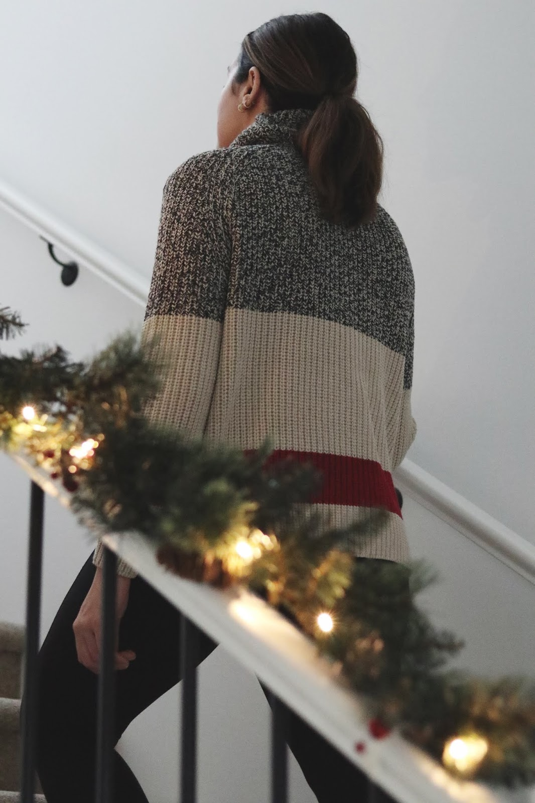 Roots Cabin Collection sweater