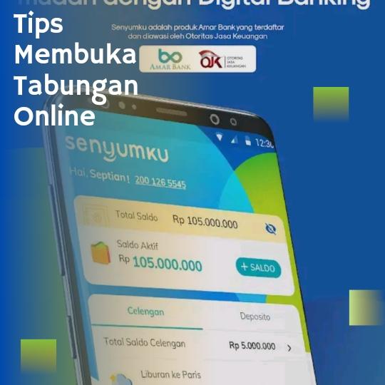 Tips Membuka rekening online