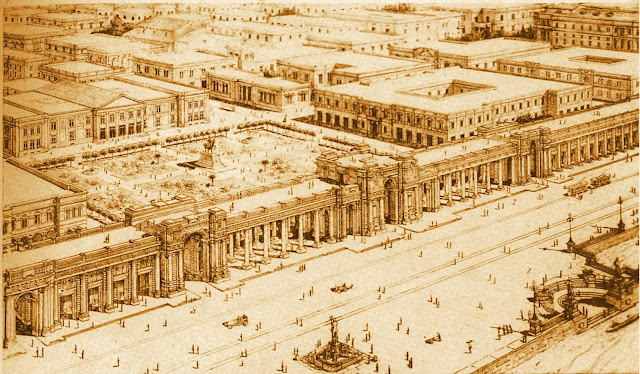 Plan de reconstrucción de Mesina tras el terremoto