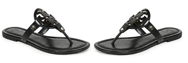 11. Tory Burch Women's Miller Thong Sandals