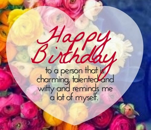 Short Birthday Quotes Wishes for Special Person