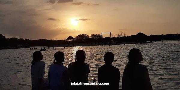 rencana perjalanan wisata private trip pulau pari