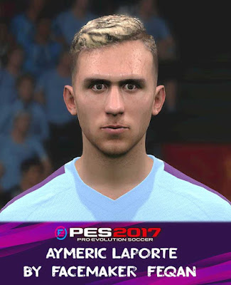 PES 2017 Aymeric Laporte Face by Feqan
