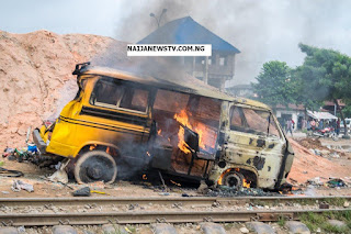 Lagos Train Bus Accident Claims 3 Lives