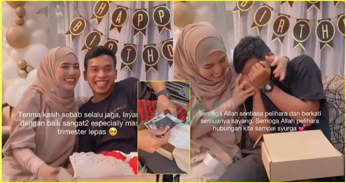 """"""" Alhamdulillah, rezeki yang tak disangka kepada bekas pengasuh Siti Aafiyah. Tahniah Dayah.. """" – Netizen"""