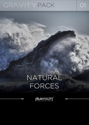 Cover Heavyocity - Natural Forces (KONTAKT)