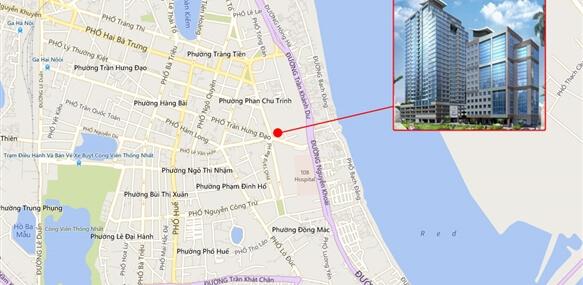Vị trí đắc địa tại chung cư số 4 Trần Hưng Đạo của TNR Holdings Việt Nam