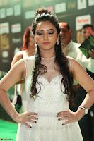 Meghana Gaur in a Deep Neck Sleeveless White Gown at IIFA Utsavam Awards 041.JPG