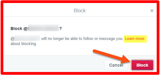 How to Block Twitter Followers